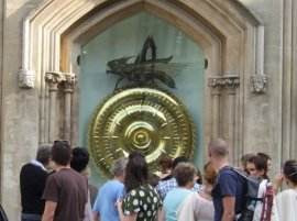 The Corpus Clock & Chronophage