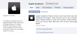 apple facebook technology class